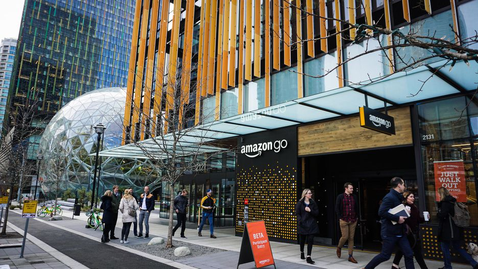 No Lines, No Check-Out! Amazon opent eerste kassaloze supermarkt